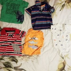 Baby boy set of shirts